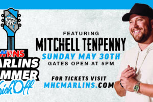 Marlins Announce Summer Kickoff with Mitchell Tenpenny