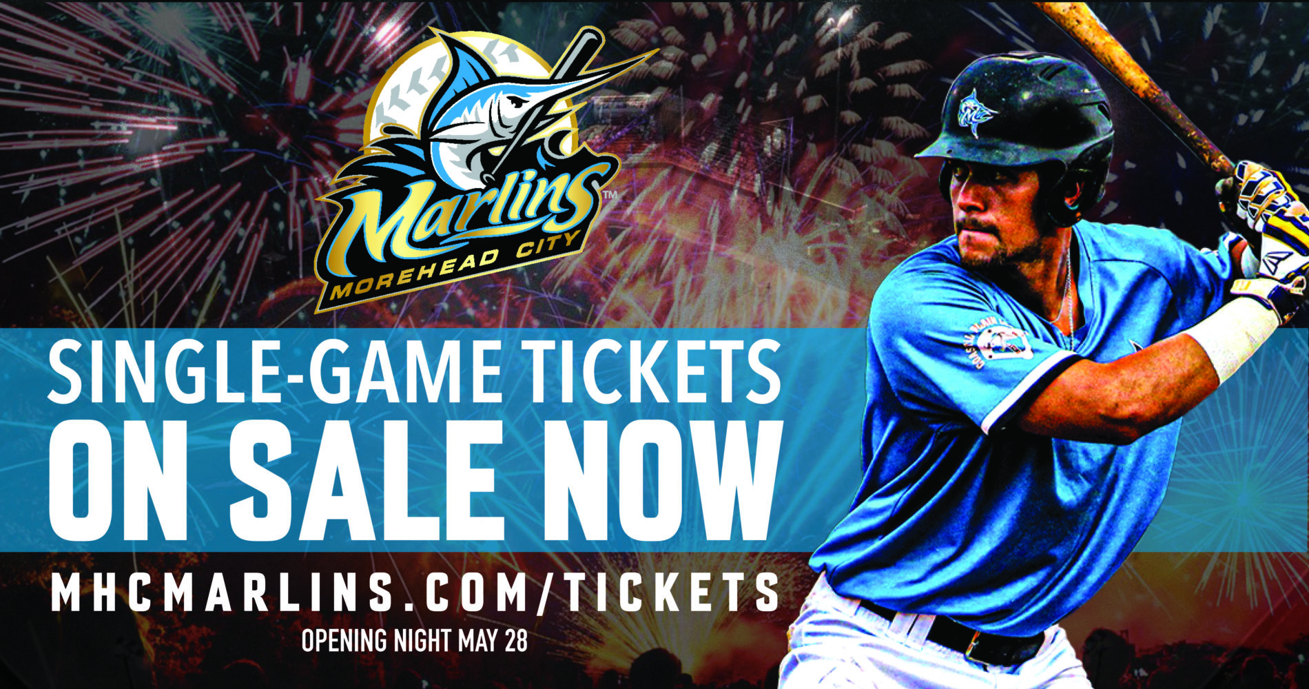 Single-game tickets now on sale!