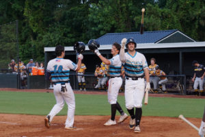Marlins get back on track, beat Tobs on Friday night at The Rock