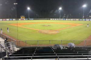 Marlins canceled by weather Saturday, head to Peninsula for playoff opener Sunday