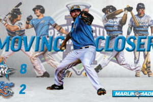 Marlins dominate Pilots to win Game 1 on the road